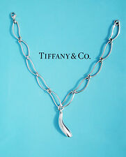 Tiffany & Co Frank Gehry Sterling Silver Fish Charm Bracelet