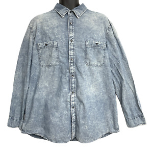 NWT Foundry Men/'s Big Tall Winter Green Waffle Henley Shirt XLT 2X 3XLT 4X  4XLT