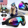 2 Pack Snow Ski Goggles Men Anti-fog Lens Snowboard Snowmobile Motorcycle