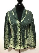 ROCCOBAROCCO Cardigan Giacca Donna Lana Woman Wool Sweater Jacket Sz.S - 42