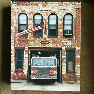AMERICAN FIRE STATION  500 Piece Jigsaw Puzzle SPRINGBOK  COMPLETE Used