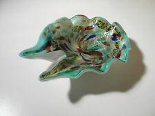 Schöne alte Murano Glas-Schale - rest of the day - Aschenbecher - Silberflitter