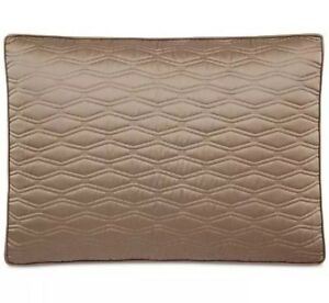 Hotel Collection Woven Texture Red Collection Quilted KING Sham