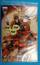 DEADPOOL v GAMBIT 1 DAVE JOHNSON FRIED PIE EXCLUSIVE VARIANT