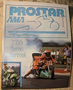 Prostar AMA 1999 Series Yearbook Motorcycle Dragracing Mint