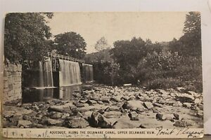 Scenic Upper Delaware Canal Aqueduct Postcard Old Vintage Card View Standard PC