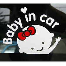 Reflective Silver Diy Cute Baby In Car Auto Bumper Window Stickers Decals 1Sheet
