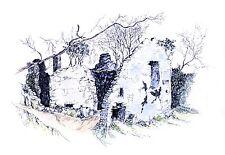 Print of Candleston Castle, 1985, Merthyr Mawr, A3+ Epson Matte Paper Print