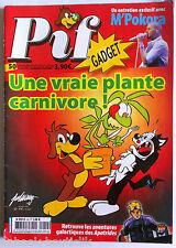 b)PIF Gadget magazine n°50 du 09/2008; sans le gadget/ M'Pokora