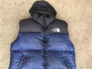 The North Face Down Nuptse 700 Vest Men's Jacket Size XL