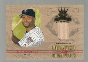 Torii Hunter 2004 Donruss Diamond Kings Diamond Cut Game Used Bat #059/100