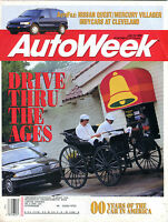 AutoWeek Magazine July 19 1993 Drive Thru The Ages EX 012616jhe
