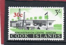 Cook Islands QE2, 1967 Decimal Currency 30c on 3s.sg 216  NHM