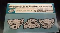 WHIGFIELD SATURDAY NIGHT CASSETTE TAPE1994 FREE DELIVERY LONDON RECORDS