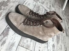 Mallet - PRJCT SUEDE LACE-UP BOOT SNEAKER RRP £165