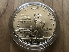 Unc 1986 Statue Of Liberty Centennial * Commemorative 90% Silver Dollar