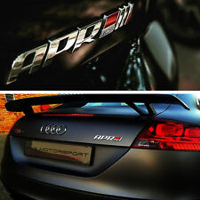 NEW 3D ABS APR Stage III+ Logo Car Emblem Badge Sticker Decal Fit For Golf Audi