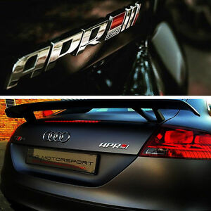 NEW 3D ABS APR Stage III+ Logo Car Emblem Badge Sticker Decal fit all cars
