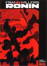 Frank Miller - Ronin Tome 1: Sacrifice. Hardcover album in French