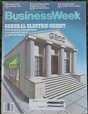 BUSINESS WEEK MAGAZINE - August 30, 1982 - General Electric Credit and More!