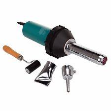 Portable 1000W Plastic Welder Gun Hot Air Torch  Welding Pistol  2 Nozzle Roller