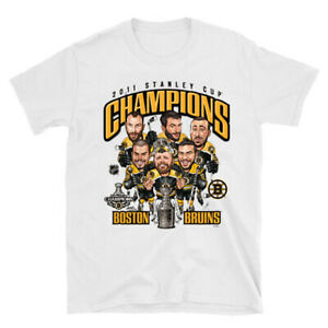 2011 Stanley Cup Champs Pittsburgh Penguins Caricature T-Shirt White TK1619