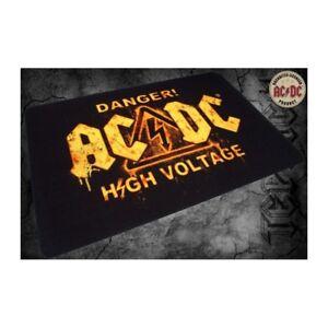 Foot Mats/Carpet - AC/Dc - Danger! High Voltage (19 11/16x31 1/2in) 100839