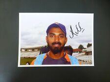 KL RAHUL - INDIA TEST cricket signed photo (5x7) - New stellar opening bat