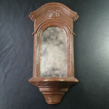 Vintage Wall Sconce with Smokey Mirror Mcmlxxviii (1978) Brown Dart Ind. 3521