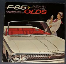 1962 Oldsmobile F-85 Catalog Sales Brochure Cutlass Excellent Original 62