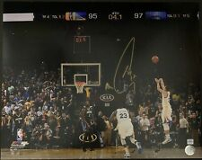 Stephen Curry Signed Warriors 16x20 Photo Autographed Steph Curry COA & Hologram