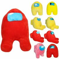 Among Us Character Sit Plush Soft Figure Imposter Toy Gift Doll Stuffed Hot Game