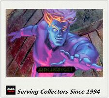 1994 Marvel Masterpieces Powerblast Card No2 Archangel
