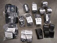 Lot of Random Misc. Portable Radio Cases/Straps Leather/Nylon