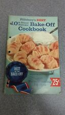 PILLSBURY'S 1958 BEST of the BAKE-OFF 10th GRAND National COOKBOOK 100 Recipes!!