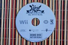 Muramasa The Demon Blade Wii Demo Disc MMV Ignition Vanillaware