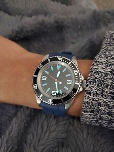Custom mod watch with Seiko NH35 movement 40mm Automatic