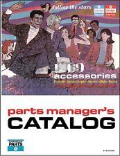 1969 Plymouth Accessories Book Barracuda Satellite Belvedere GTX Roadrunner Fury