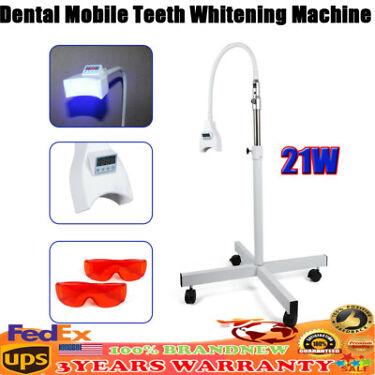 Dental Oral Teeth Whitening Machine Cold Light LED Lamp Bleaching Accelerator US