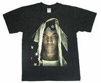 Young Jeezy Recession Album CVR USA Flag Black T Shirt New Free Extras
