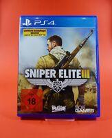 Sniper Elite III 3 : Afrika Limited Edition PlayStation 4 PS4 Spiel USK Version