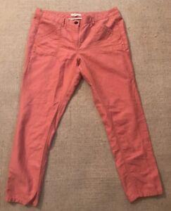 Ann Taylor Loft Marisa Pants Linen Cotton Blend Womens Casual Size 10P NEW #C8