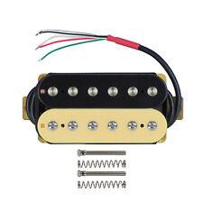 Recogida cuello de Guitarra Cebra 1PCS 50mm Doble Bobina Humbucker Pickup Guitarra 4 Hilos