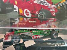 "Minichamps 1/43 Jaguar Racing R5 Mark Webber Monaco GP 2004 ""Oceans 12"""