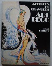 Affiches et Gravures ART DECO Jean DELHAYE éd Flammarion