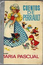 "HARDCOVER CUENTOS DE PERRAULT ""SPANISH"" CINDERELLA, PUSS IN BOOTS and more"