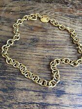 Chain Necklace Monet Goldtone
