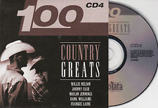 CD CARTONNE CARDSLEEVE COUNTRY 20T JOHNNY CASH/JONES/JENNINGS/ROBBINS/LAINE