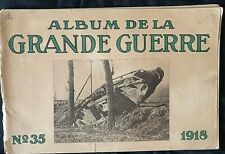 Album imprimé en  photographié en noir et blanc en édition allemand N°35 1918 A5