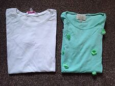 Two Girls Tops Aged 10-11 Years